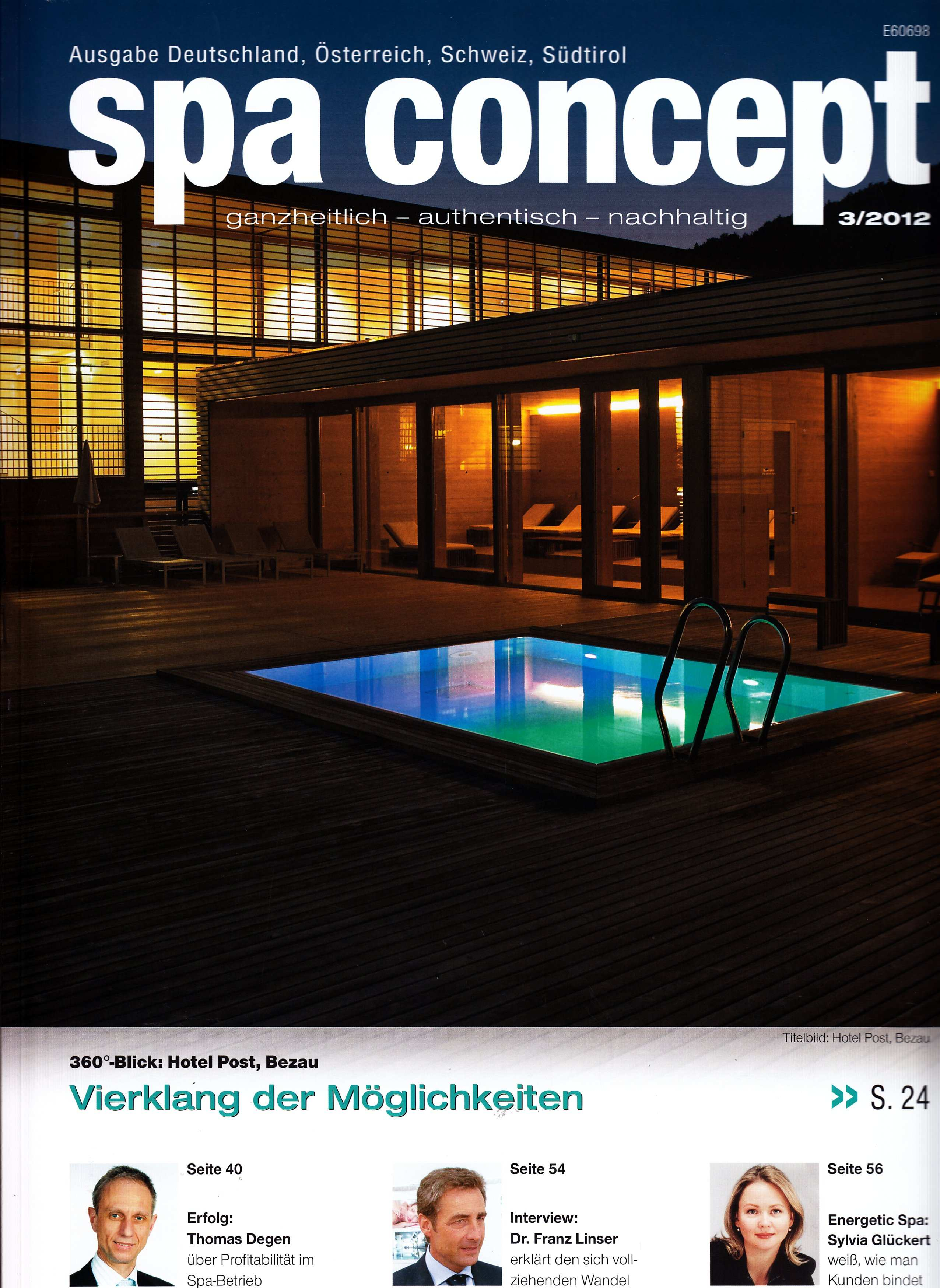 spa concept Front Page