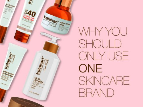 Why You Should Only Use One Skincare Brand